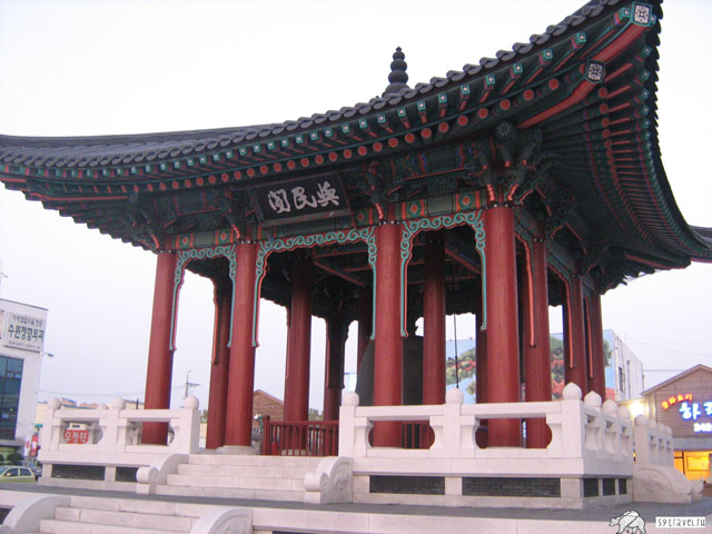 Корейский храм