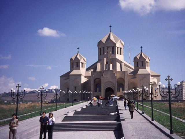 Армения храм святого Грегора