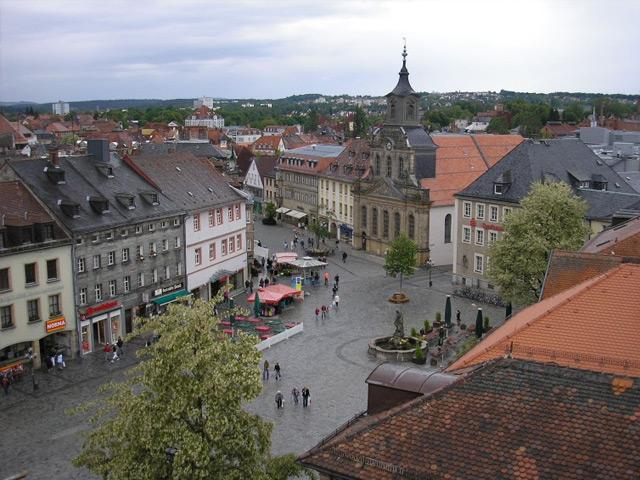 Байрейт (Bayreuth) – главный город Верхней Франконии, расположенный на берегах Красного Майна. Впервые о городе упоминается в 1194 году. В начале 13 века Байрейт получил права города. Золотой век Байрейта наступил во время правления графини Вильгельмины.