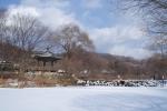 Зима в Корее