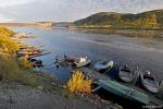 Крым - лодки на берегу