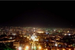 Ночной город Ереван