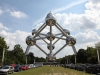Автор проекта – архитектор Андре Ватеркейн. Это сооружение, покрытое металлом, основывается на модели атома железа: 9 сферических частиц связаны кристаллической решеткой.