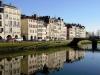 Байонна (Bayonne) – известный французский город-порт. Его считают столицей баскского региона и центром культуры басков во Франции. Заложен город был римлянами в 1 веке до нашей эры. Река, протекающая по городу, делит его лево и правобережную Байонну.