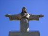 Располагается Христос Спаситель на берегу живописной реки Тежу, недалеко от небольшого городка, который стоит сразу же возле столицы, Алмада.
