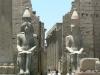 В 16 в. до н.э. здесь было скромное святилище, которое по приказу фараона Аменхотепа III превратили в грандиозный храм. Он считается второй по значению святыней в Фивах.
