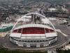 Самой знаменитой достопримечательностью Великобритании по праву считается стадион Уэмбли. Его построили на территории Туманного Альбиона в 1920 году, когда парк на территории Уэмбли решили сделать тем местом, где пройдет Имперская выставка. Для этого события стадион выстроили всего лишь за период в три месяца.