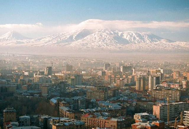Панорама на Ереван